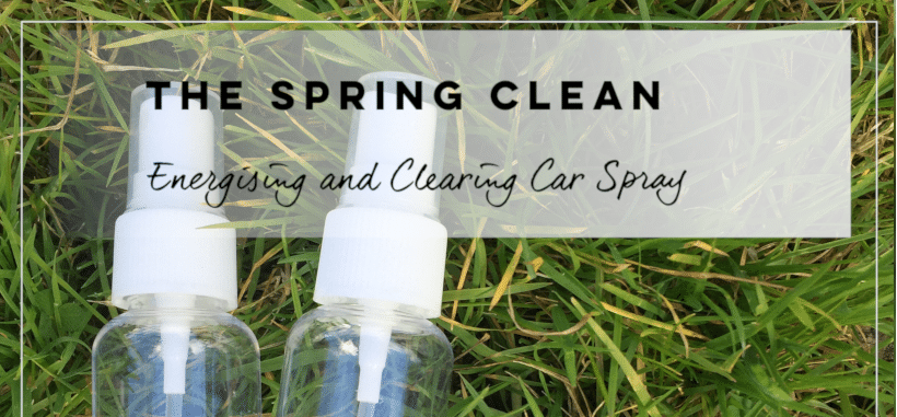 An energising and clearing spray for your car to help you get from A to B, healthy and happy.